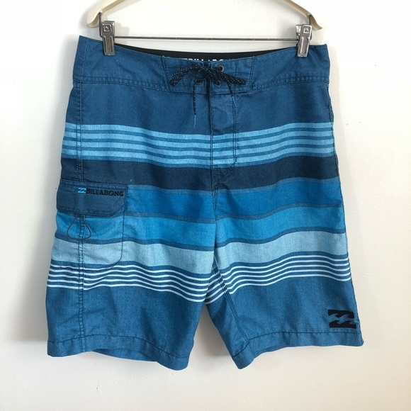6872a7b2b7e6 Billabong Swim | Board Shorts Trunks 30 Blue | Poshmark